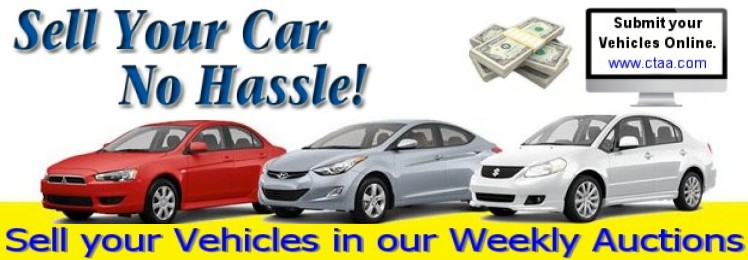 Sell your Vehicle in our Weekly Auctions.