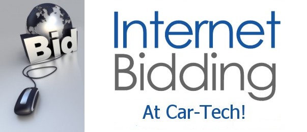 Internet Bidding At Car Tech